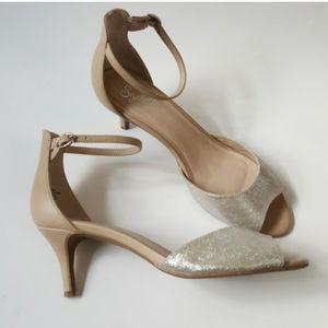 Seychelles Peep toe kitten heels NWOT Size 8.5